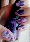 31DC - purple marble effect