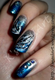 Feather nails for naillinkup