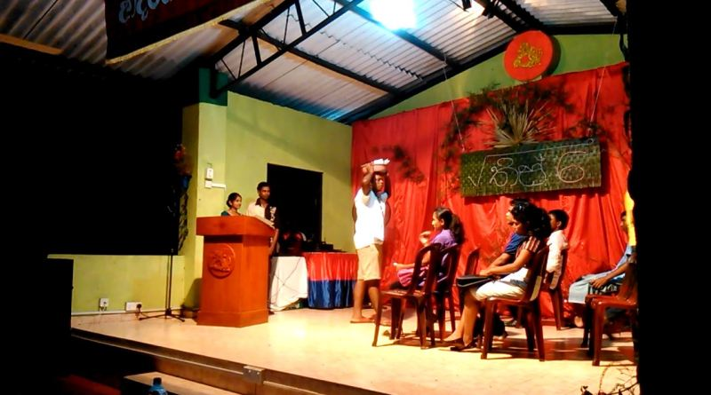 "Memories of √36 Talent show – Drama ""Isso Wade"""