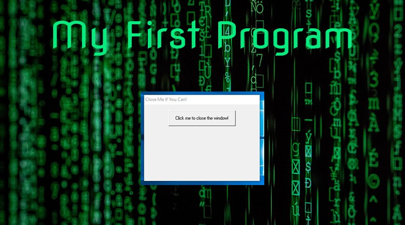 My First Program