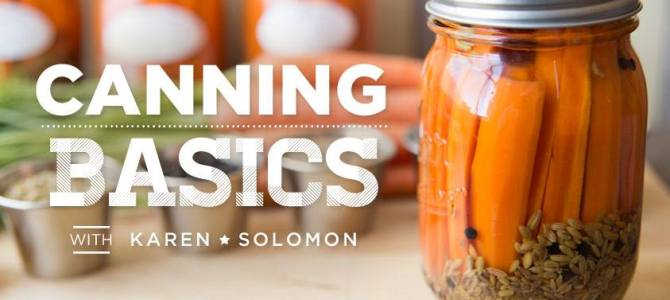 Video Canning Classes