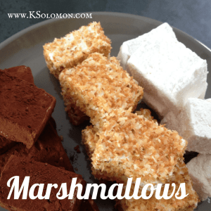 make your own homemade DIY candy marshmallows