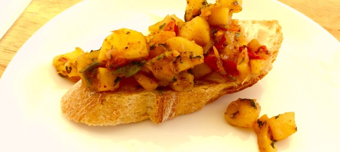 Fresh Indian Apple Chutney Recipe