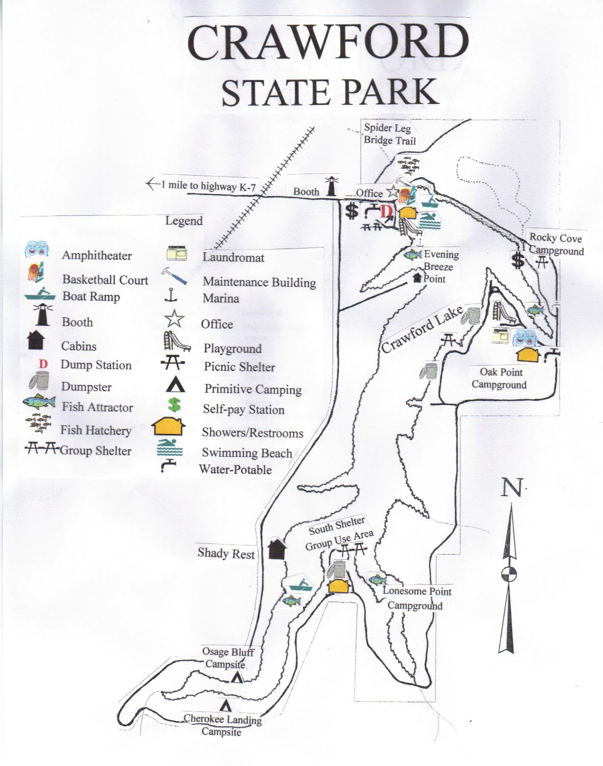 Crawford Gallery Crawford Locations State Parks