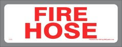 Fire Hose Decal