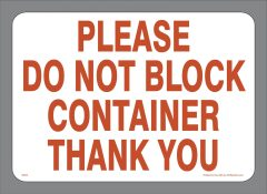 Block Container Sticker