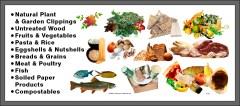 Organic Waste Container Sticker