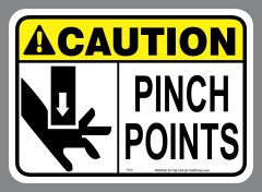 Pinch Points Sticker
