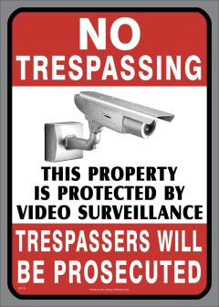 Video Surveillance Sticker