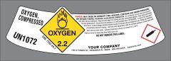 Medical Oxygen Label