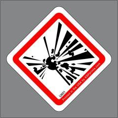 GHS Explosive Symbol