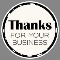 Thanks for your business vinyl floor graphics