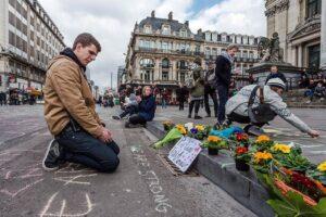Брюссель. После терактов