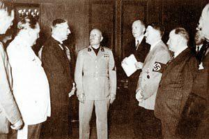 Мюнхенский сговор – позорная страница европейской истории