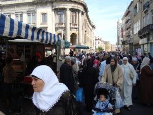 В Брюссельском квартале Молленбек проживают преимущественно мусульмане