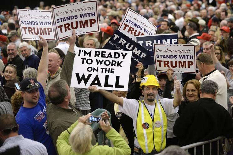 В пораженной болезнью левизны Америке Трамп стал для многих последней надеждой...