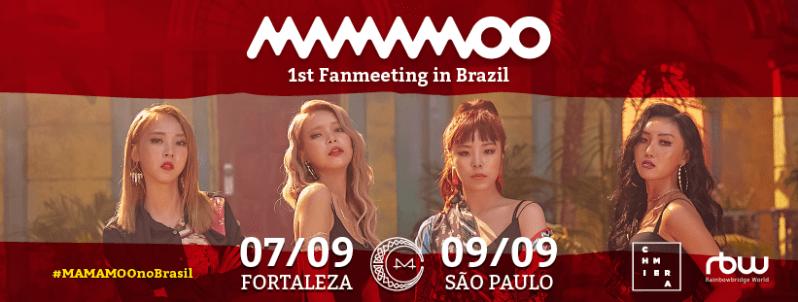 mamamoo fan meeting brésil