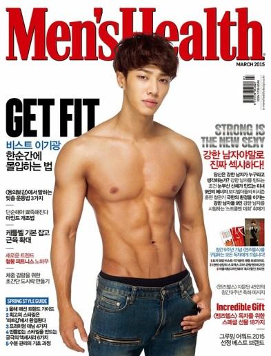 MEN'S HEALTH - BEAST LEE GIGWANG - MAR 2015