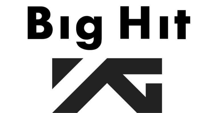 Logo YG Entertainment et Big Hit