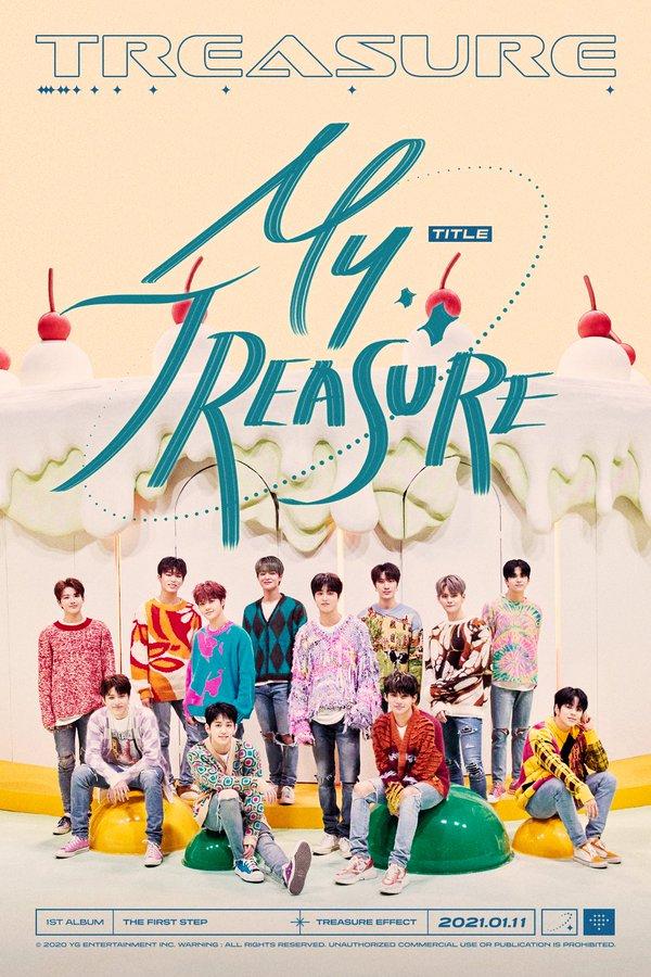 """TREASURE révèle le titre de sa prochaine chanson : """"My Treasure"""""""