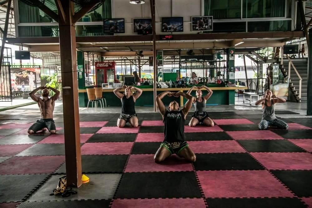 Muay Thai Wai Kru Lesson