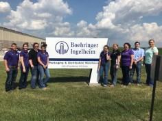 Students visit Boehringer Ingelheim in Saint Joseph, Missouri.
