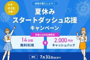 スタディサプリ・キャンペーコード利用で現金2000円プレゼント!2020年・注意点は?