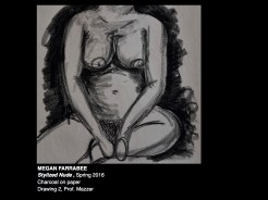 Drawing 1 Stylized Nude
