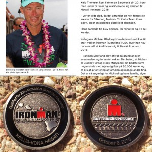 Hawaii Ironman here we come.