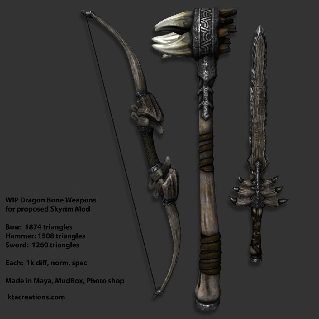 Dragonbone Weapons Dagger