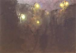 """The Light Tree Series: Into the Void I 2007 Oil on Canvas Oil on Canvas 6' x 4' x 2 1/4"""""""