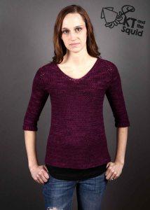 Baroque Pullover crochet pattern