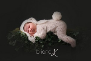© Briana K Photography Bunny Newborn Set by Briana K Crochet (knit)