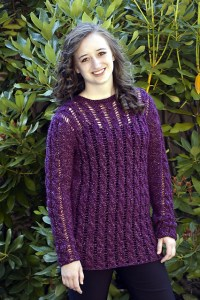 Openwork Cable Tunic by Cheryl Beckerich