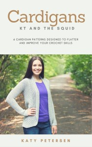 cardigans ebook by kt and the squid 6 crochet patterns designed to flatter