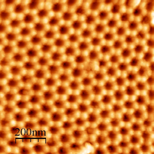 SAG - Scalloped Aluminum Grating for AFM