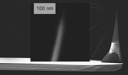 SCD - Single Crystal Diamond AFM Probe
