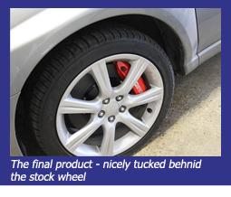 Stop-Tech WRX Big Brake Kit
