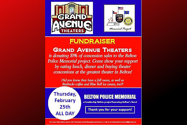 Local Theater Raising Money for Belton Police Memorial