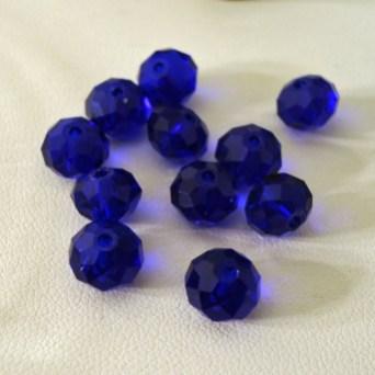 Blue Crystal (maybe Swarovski)