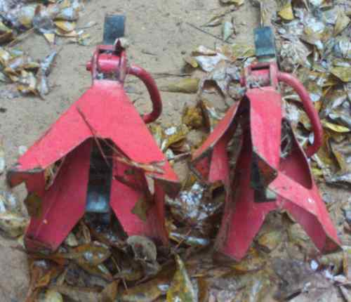 2-ton Jackstand, crushed