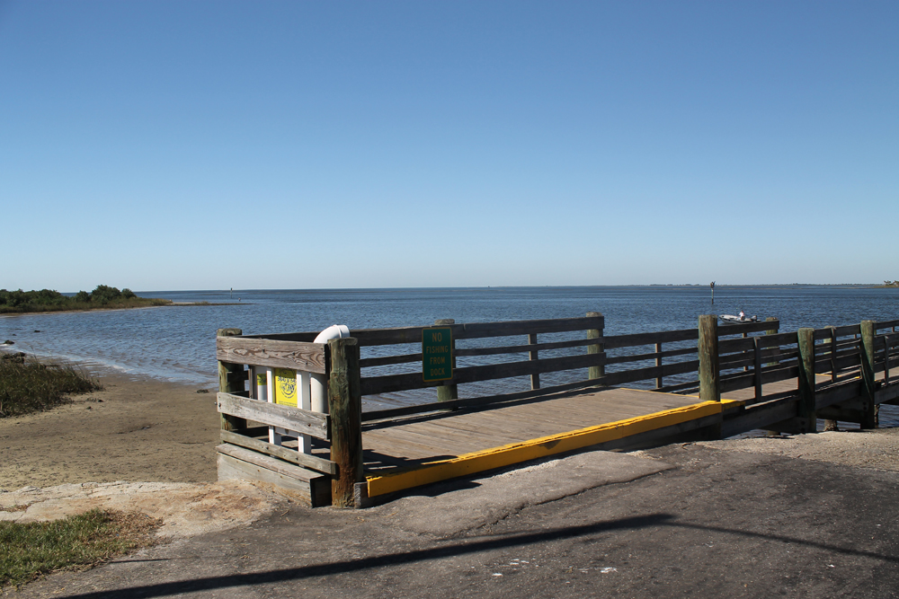 Boat Ramp on Ft. Island Trail