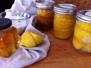 Adventures in the Kitchen with Michelle, Preserved Lemons