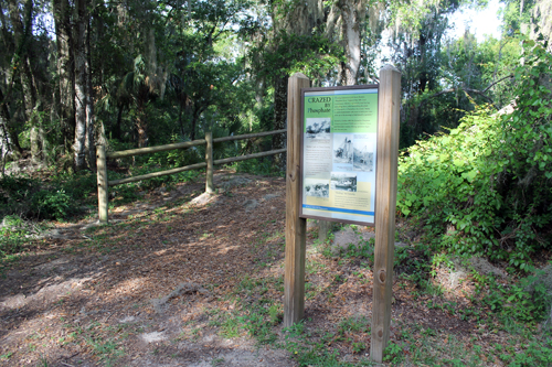 Withlacoochee State Trail, Hernando to Inverness Trailhead