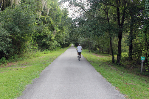 Withlacoochee State Trail, Floral City to Istachatta
