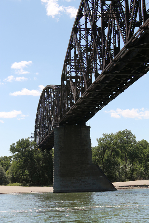 Railroad Bridge over the Missouri River