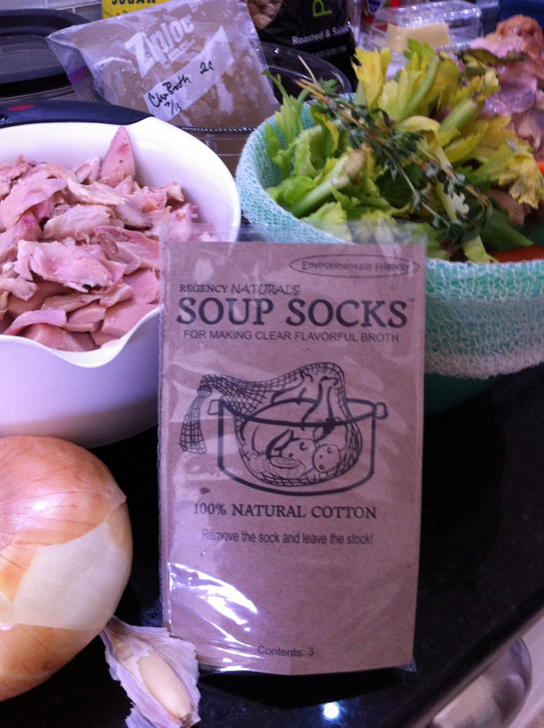 Adventures in the Kitchen with Michelle, Soup Sock!