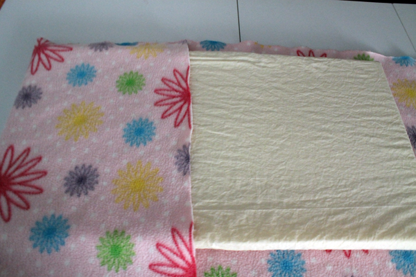 Creating envelope style cover for dog Bed for the Music Room