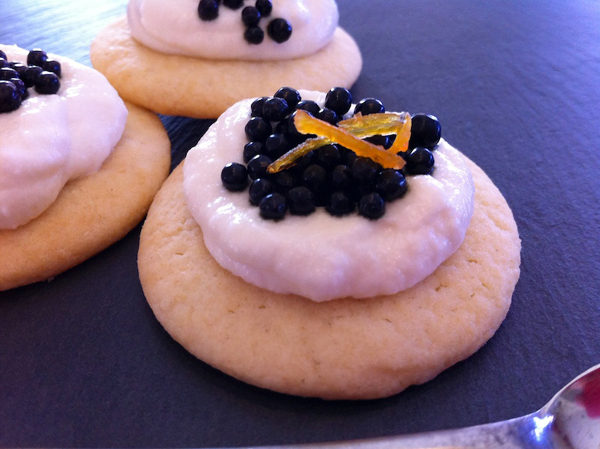 Caviar Cookie, Adventures in the Kitchen with Michelle, Caviar Cookies