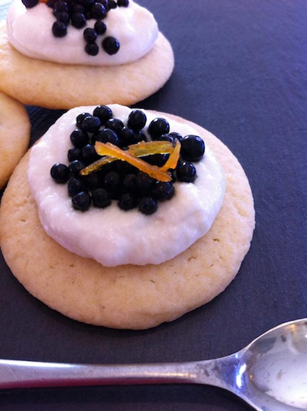 Finale -- Caviar Cookies